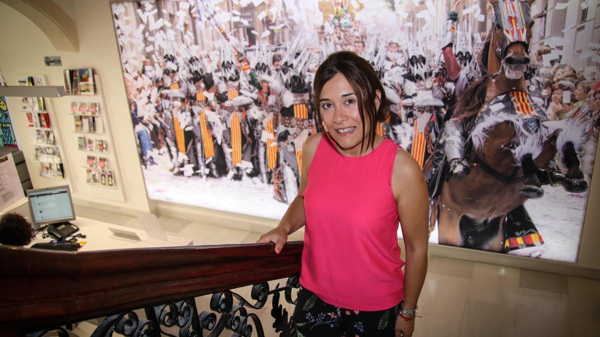 La concejala Lorena Zamorano