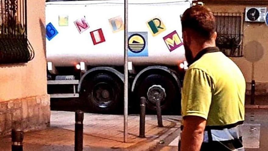 Benidorm quiere reutilizar el agua de las piscinas y aljibes para el baldeo de las calles