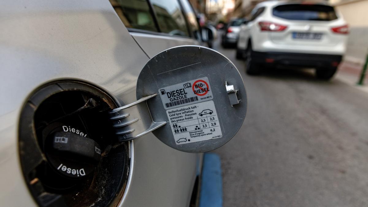 El Govern quiere prohibir los nuevos diésel en 2025.
