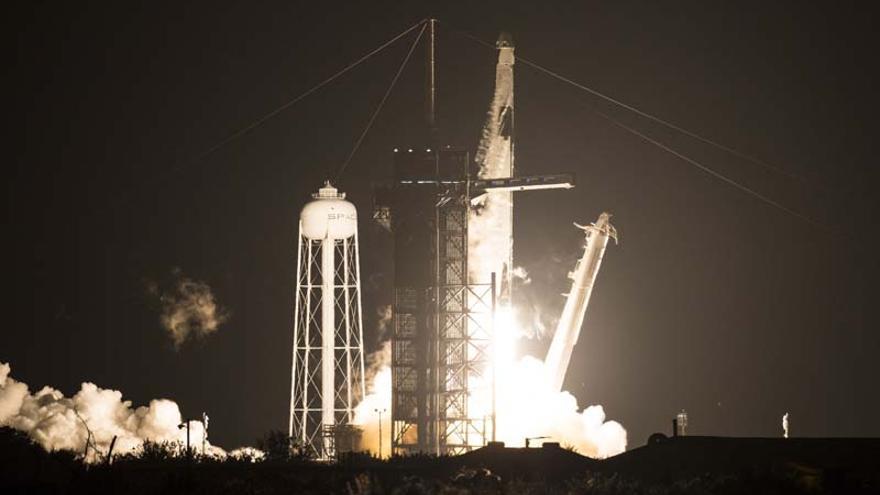 El despegue de una misión espacial histórica