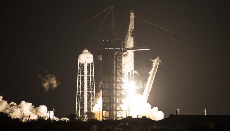 El despegue de una histórica misión rumbo a la Estación Espacial Internacional