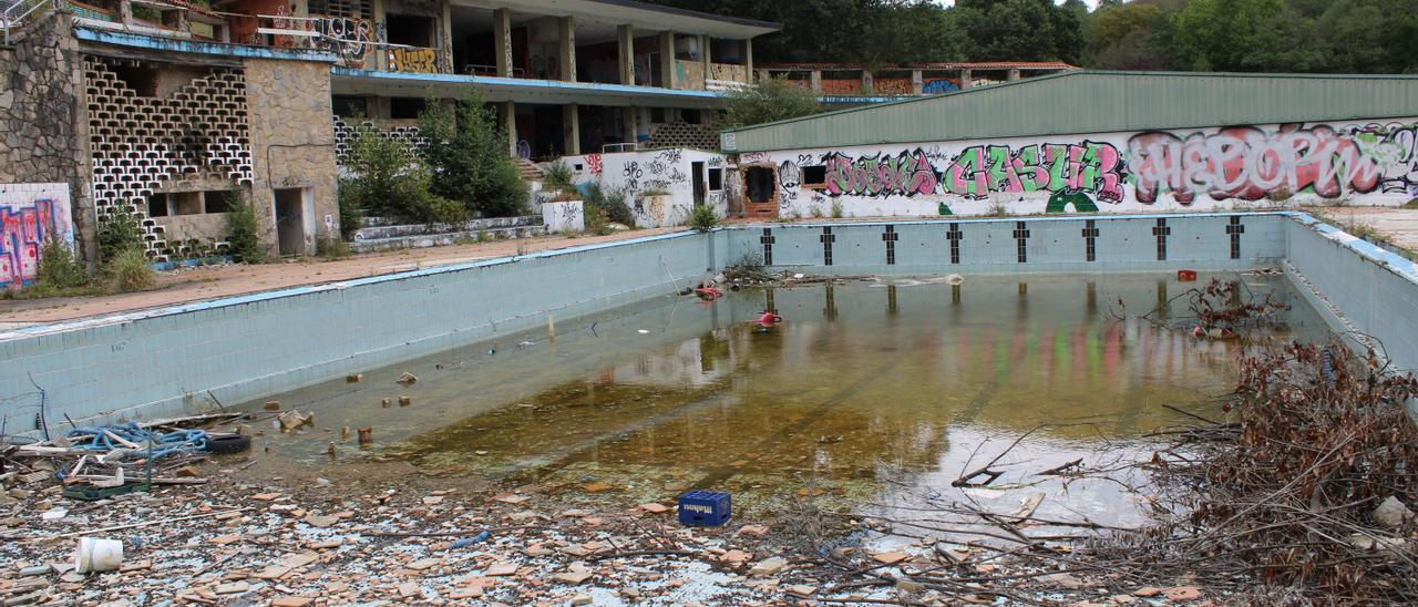 Las piscinas de Pénjamo.