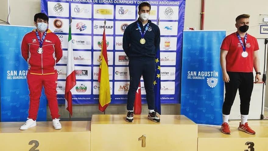 Santiago Sánchez se proclama campeón de España júnior