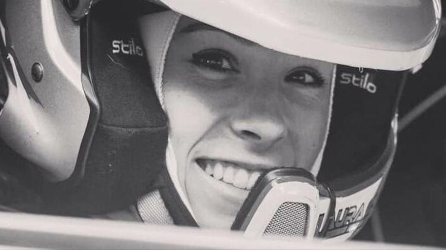 Fallece la copiloto valenciana Laura Salvo a los 21 años en un accidente