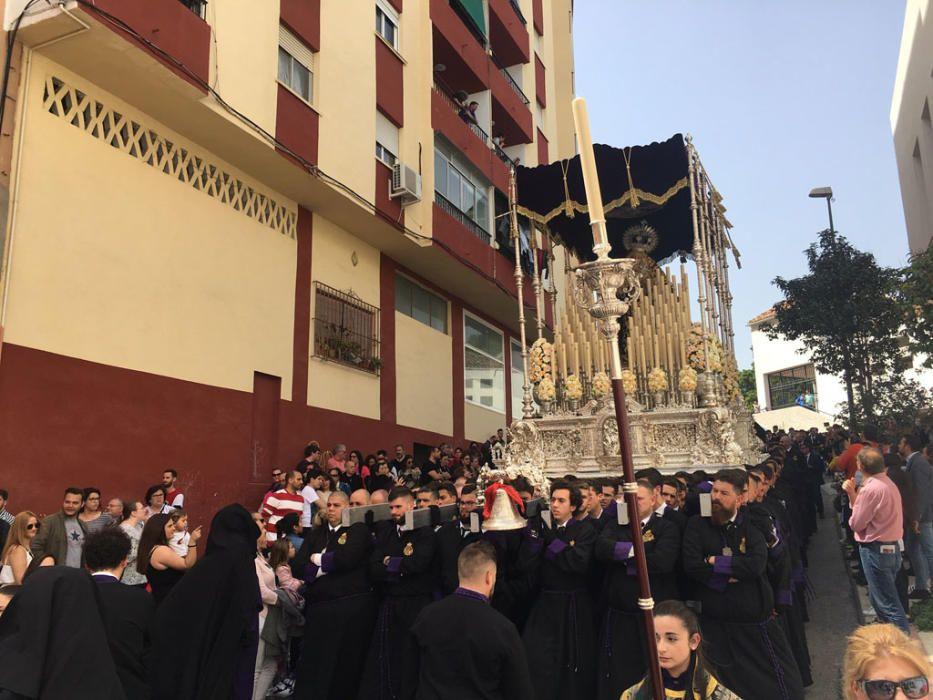 Las imágenes de la procesión de la cofradía de Crucifixión