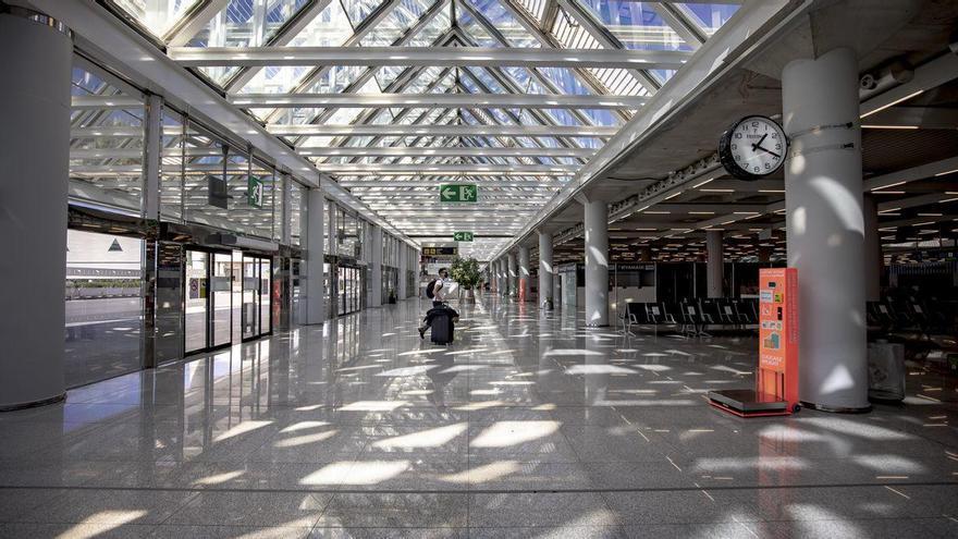 Flughafen Palma: Passagierzahl sank 2020 um knapp 80 Prozent