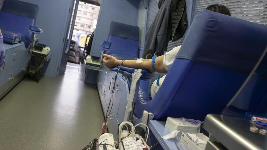 Donaciones de sangre en Benavente y Zamora