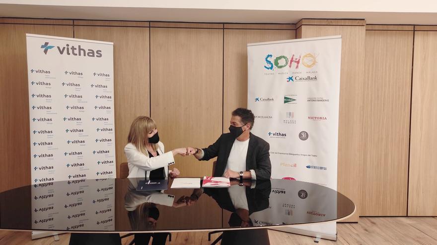 Vithas se convierte en el servicio médico oficial del Teatro del Soho CaixaBank de Málaga