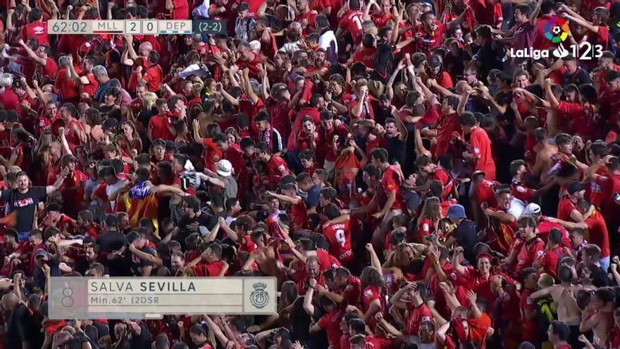 LaLiga 123: Los goles del Mallorca - Depor (3-0)