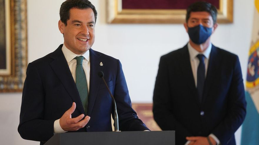 "Para Juanma Moreno el objetivo es ""culminar la legislatura"""