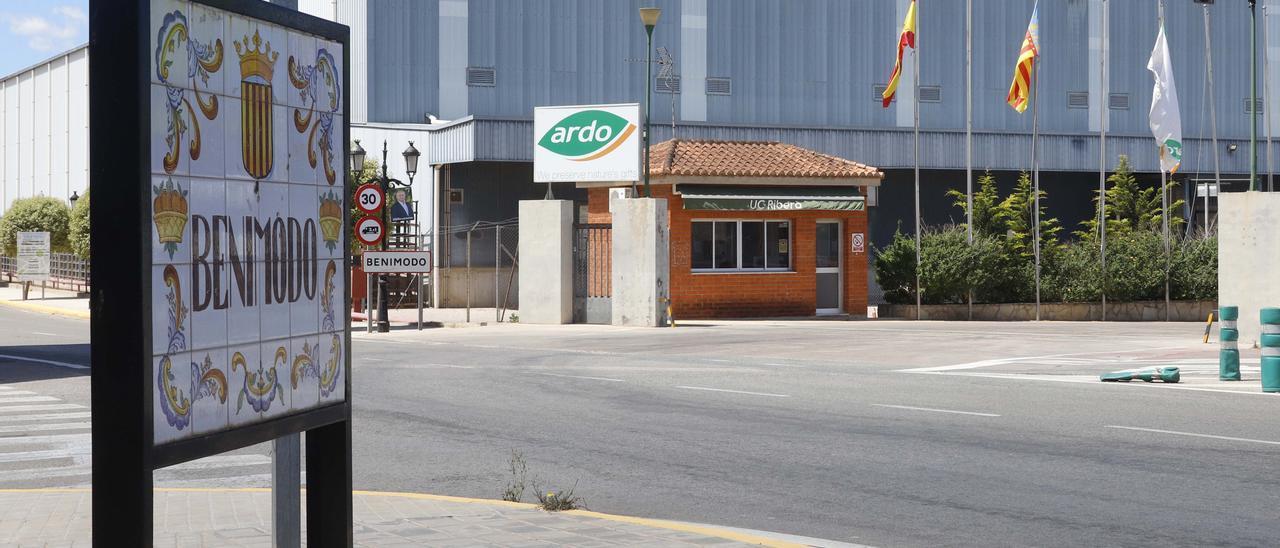 Factoría de la multinacional en Benimodo.