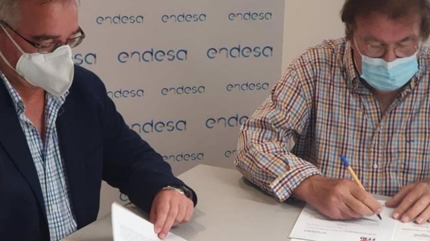 Endesa Energía y FFIB firman un convenio para mejorar las condiciones de sus federados
