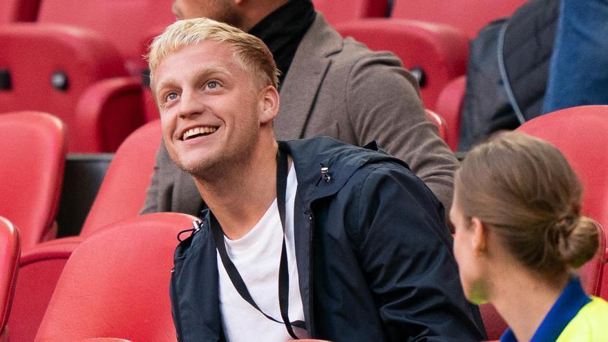 Van de Beek admite su decepción por no ir al Madrid