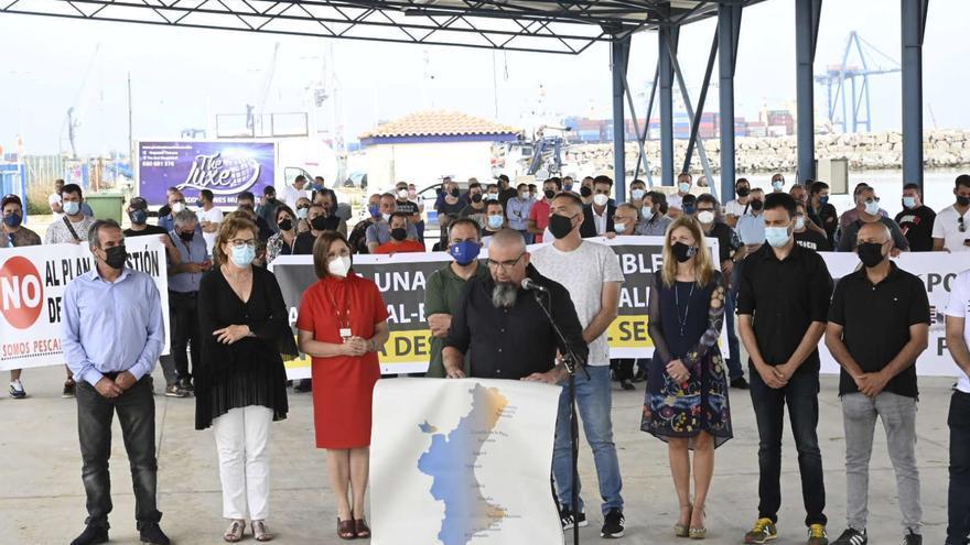 VÍDEO | La pesca de Castellón se moviliza contra el recorte en sus días de trabajo