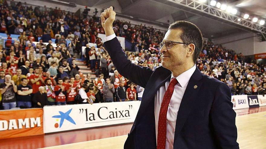 Pedro Martínez: «Tinc la sensació que hem guanyat el partit dues vegades»