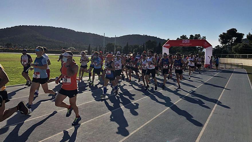 Núria Pérez y James Kessel se imponen en el 36 Half Marathon Magaluf