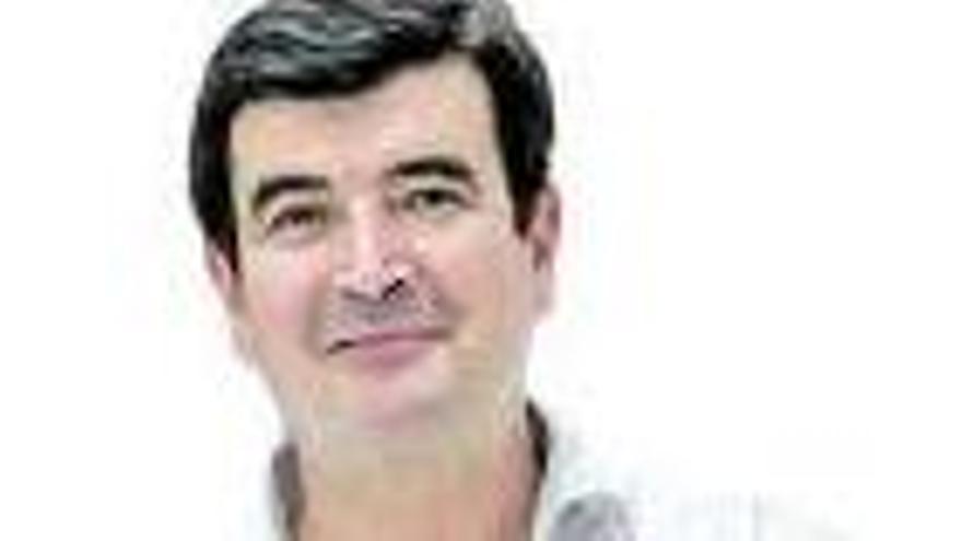 Grezzi, en primer término, en el consejo de la EMT. | G.CABALLERO