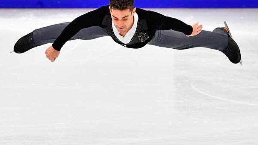 Javier Fernández bei Olympia: Wie ein Eskimo, der Volleyball spielt