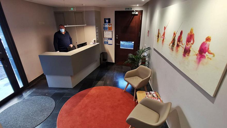 La mayor parte del sector hotelero está cerrado, y los que abren solo reciben a viajeros por trabajo
