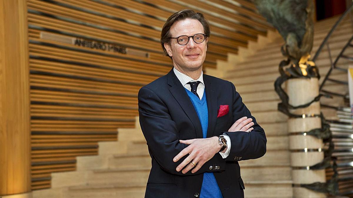 El director general de la Fundación Auditorio y Teatro, Tilman Kuttenkeuler. | | LP/DLP