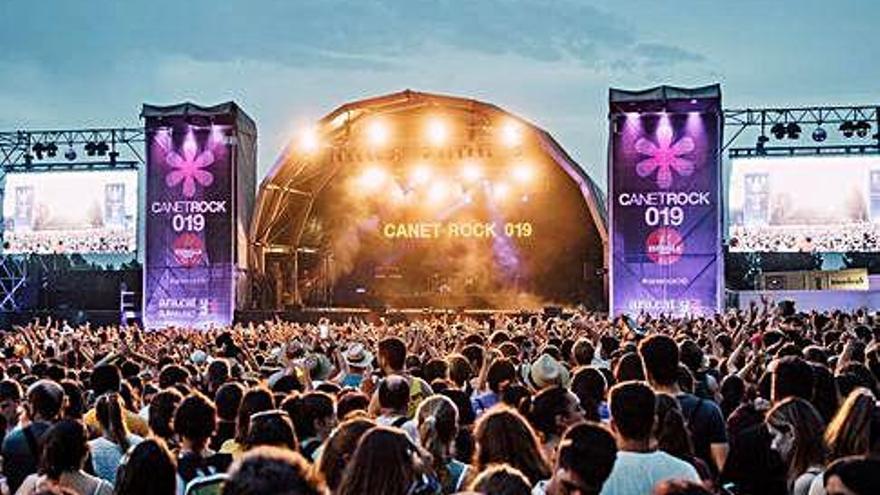 Canet Rock celebrarà el 3 de juliol l'edició d'aquest estiu per 22.000 persones dretes, test d'antígens i mascareta