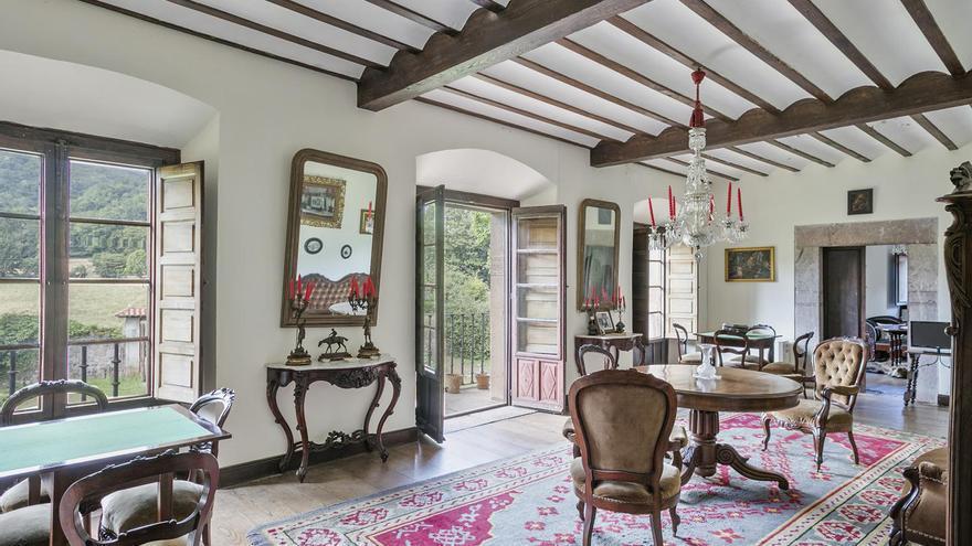 Se vende joya del siglo XVIII en Asturias: el palacio de Bayo busca nuevos inquilinos