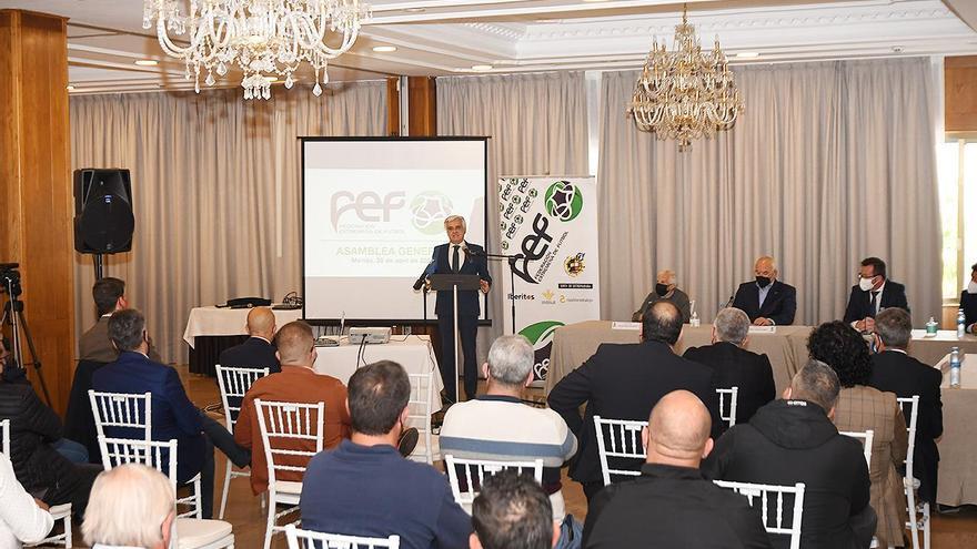Pedro Rocha, reelegido por unanimidad como presidente federativo