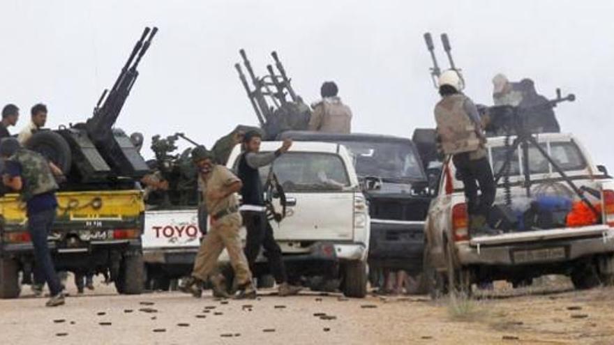 Los rebeldes libios preparan el asalto final a Sirte