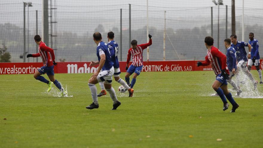 EN DIRECTO: Sigue el partido entre el Vetusta y el Sporting B