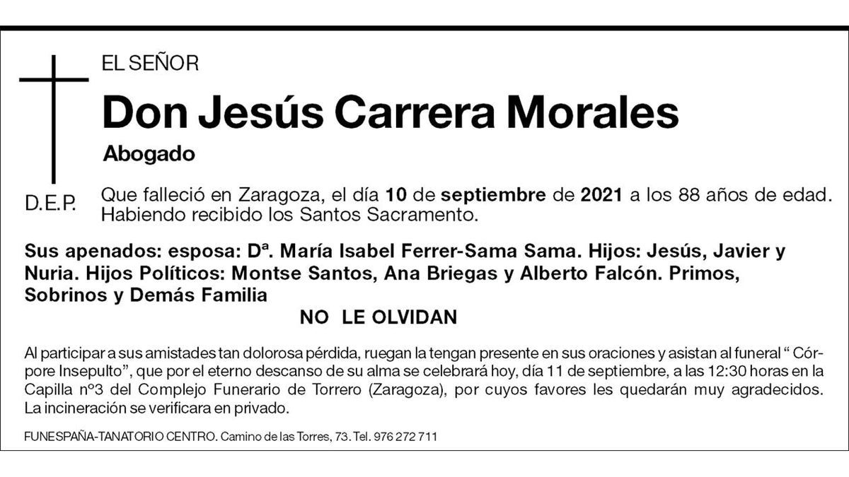 Jesús Carrera Morales