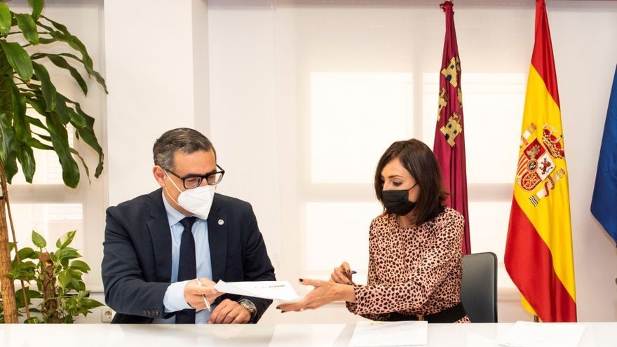 UMU y el INFO firman un convenio de colaboración para el desarrollo de actividades de emprendimiento