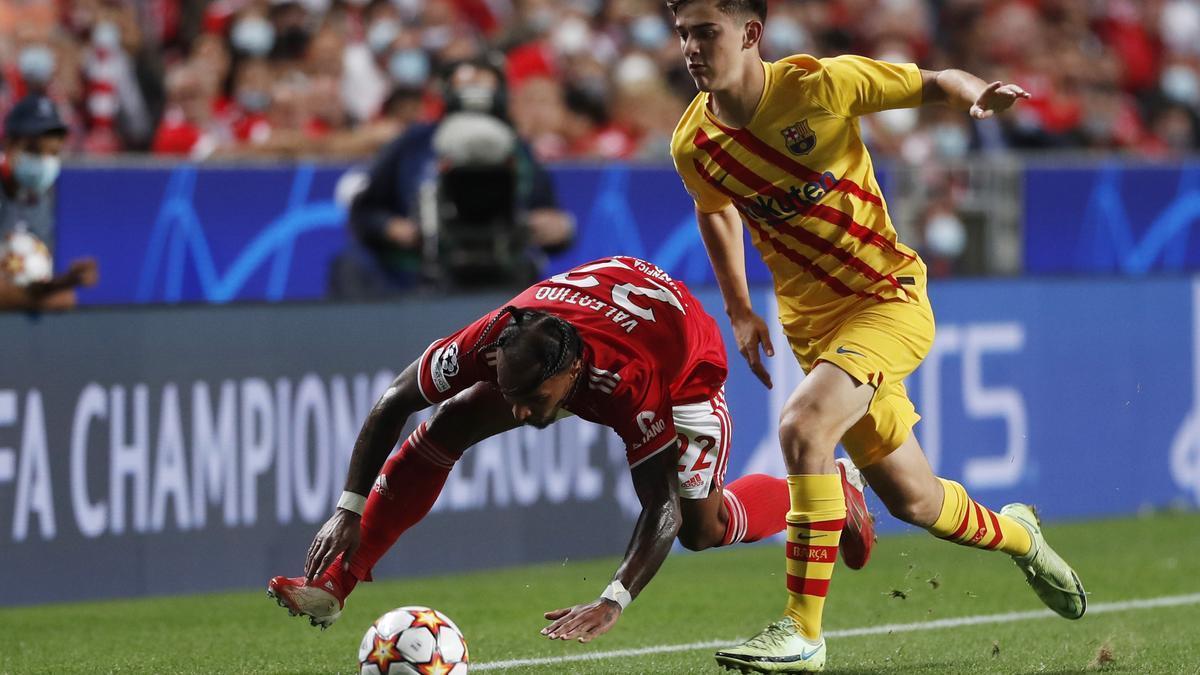 Liga de Campeones: Benfica - Barcelona, en imágenes