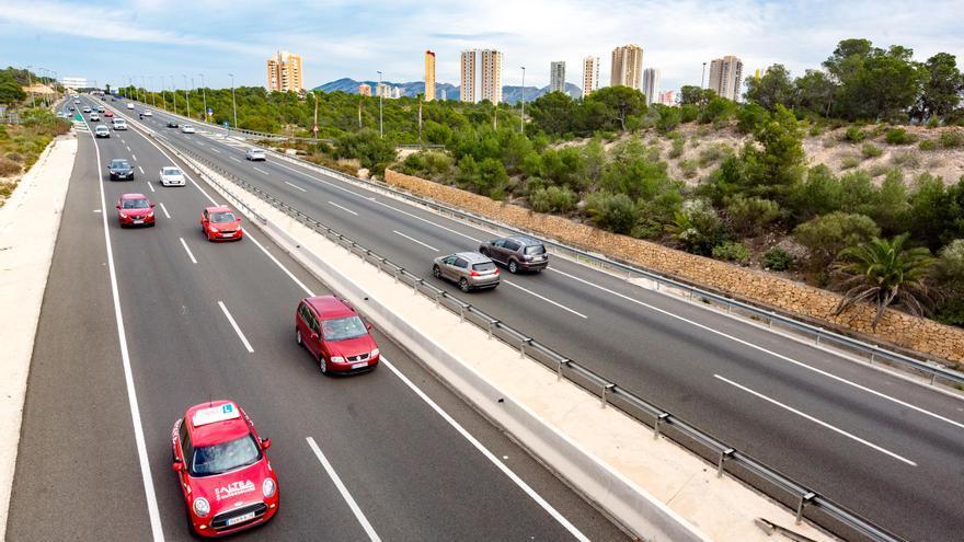 Fomento deniega a Benidorm la cesión del tramo de la N-332 para convertirlo en vía urbana