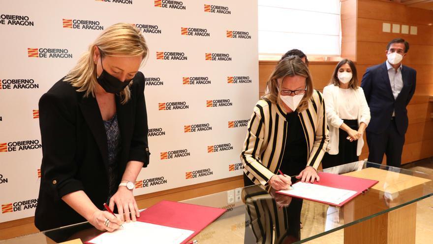 Aragón impulsa la formación en digitalización, economía circular y talento femenino