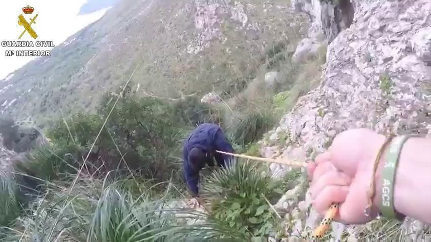 Hubschrauber rettet verirrte Wanderer auf Mallorca