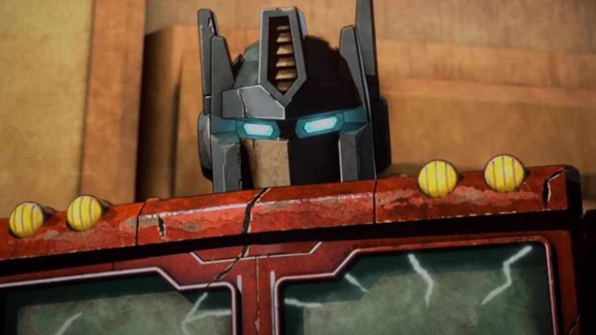 Optimus Prime en Transformers: War for Cybertron.