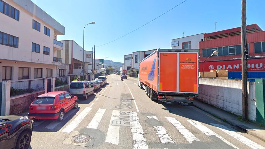 Una persecución policial a un coche entre Vigo y Morrazo acaba en el Lagares