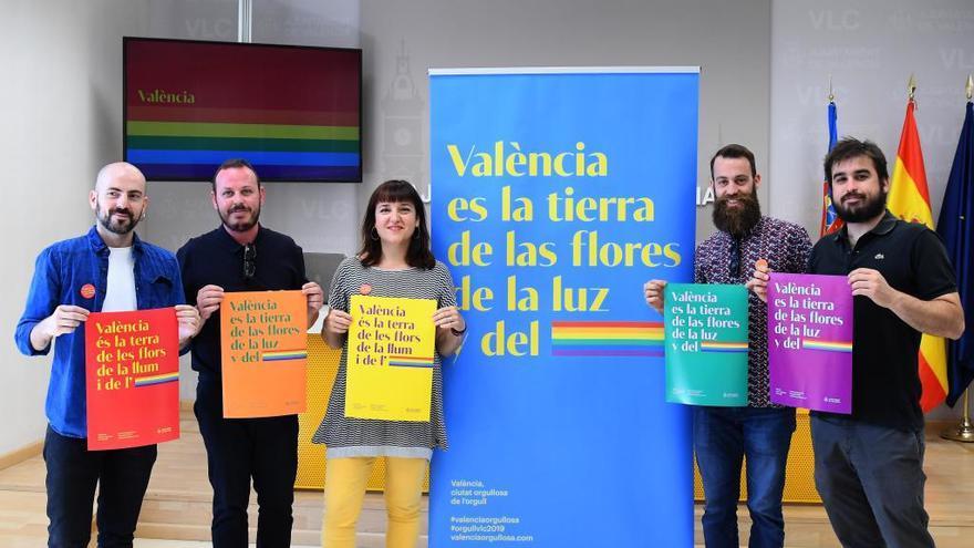 """El pasodoble """"València"""" inspira el día del Orgullo"""