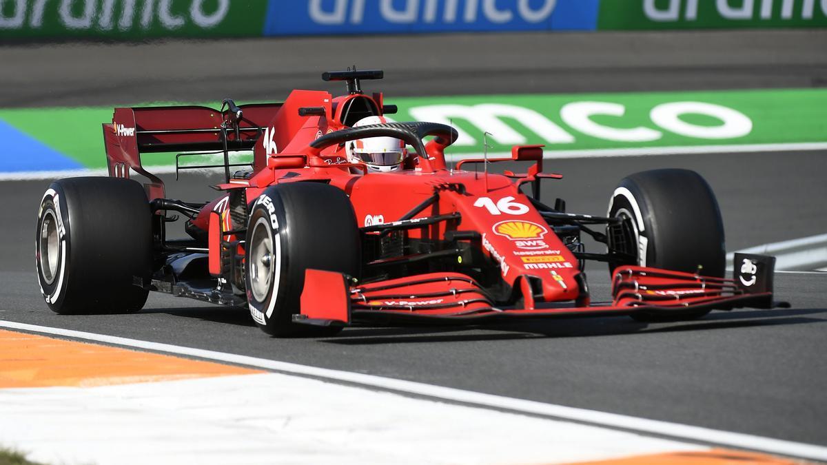 El piloto monegasco Charles Leclerc.