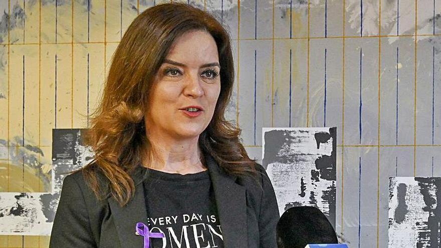 Ana Carlota Amigo, consejera de Empleo e Industria. | Ical