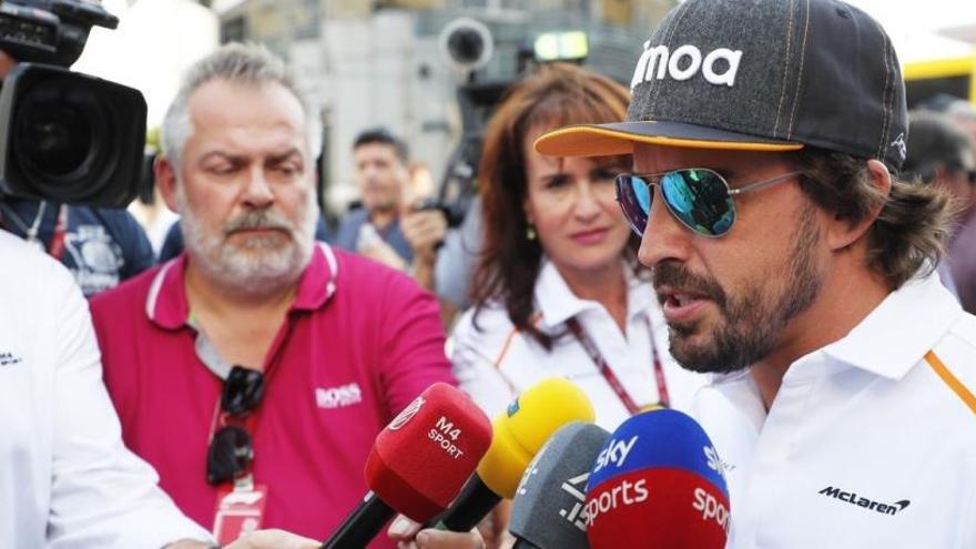 """Alonso: """"Los neumáticos serán clave en la carrera"""""""