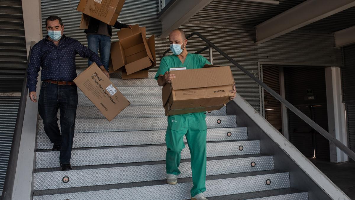 Preparativos para la vacunación en Ifeza