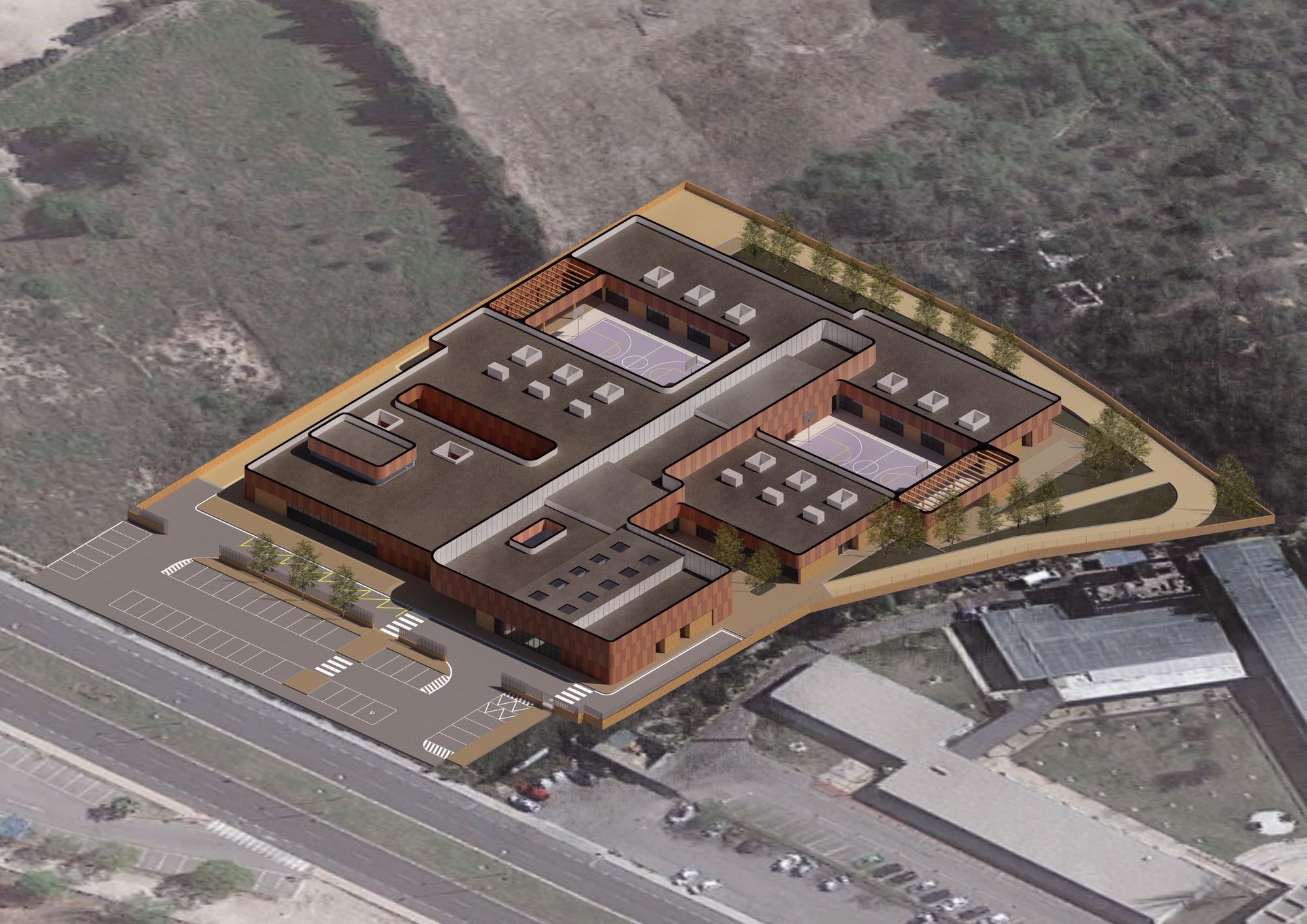 Así será el nuevo colegio de Educación Especial Pla de la Mesquita de Xàtiva