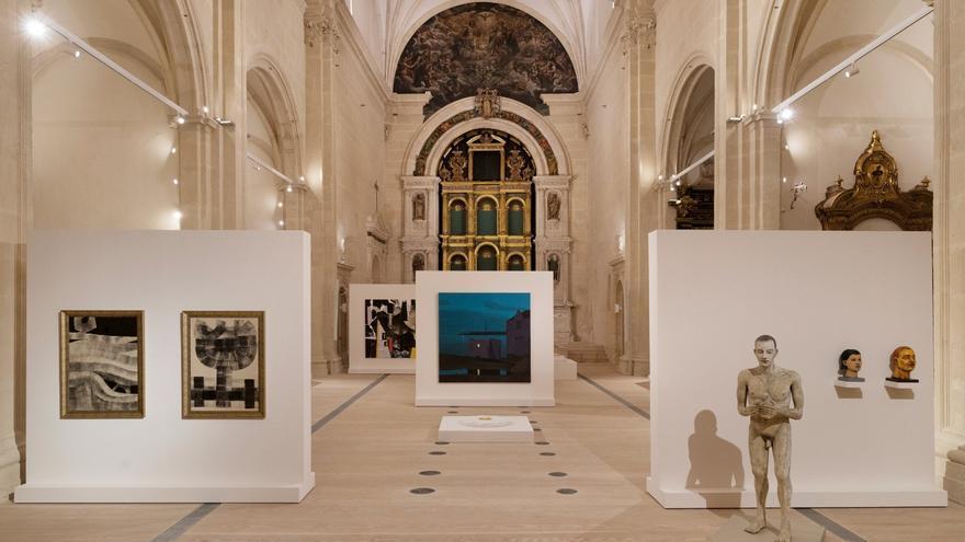 Ocho galerías en un mismo espacio: la iglesia de San Esteban
