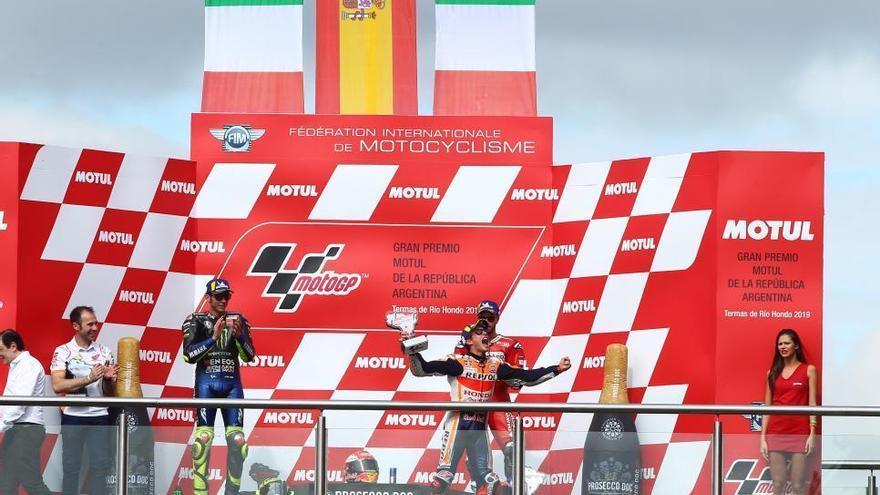 Márquez guanya sense rival al Gran Premi d'Argentina i es posa líder del Mundial