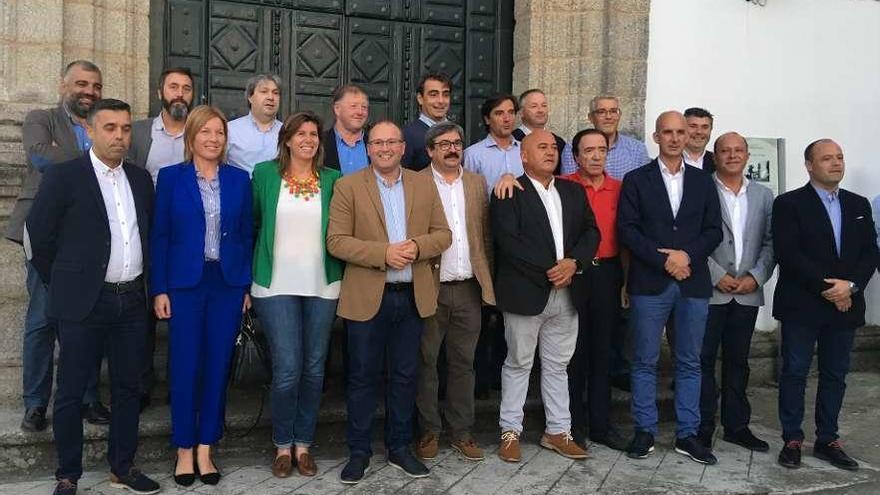 El PP apuesta por la continuidad en los candidatos de la comarca de Betanzos