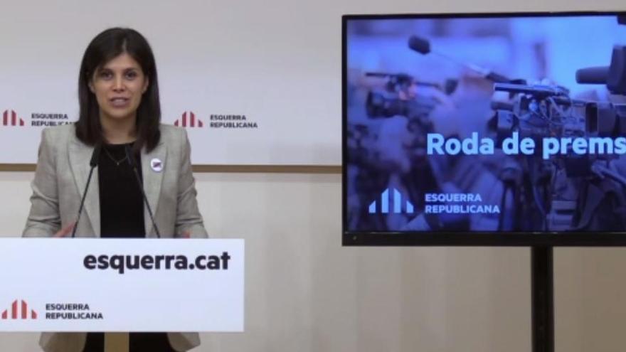 """ERC afirma que el rey """"no es bienvenido"""" en Cataluña"""