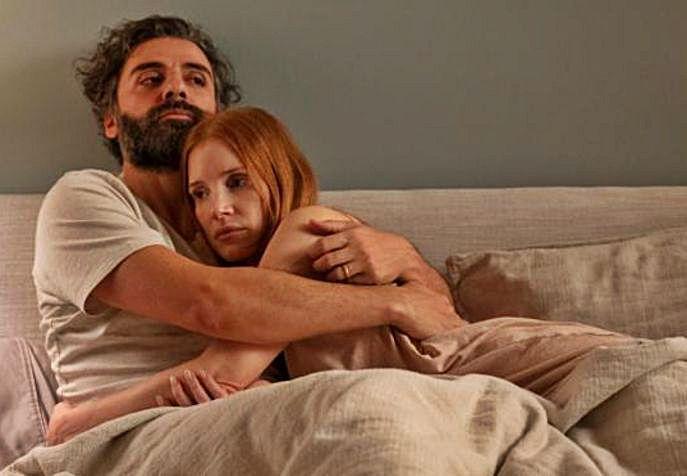Oscar Isaac y Jessica Chastain, en Secretos de un matrimonio