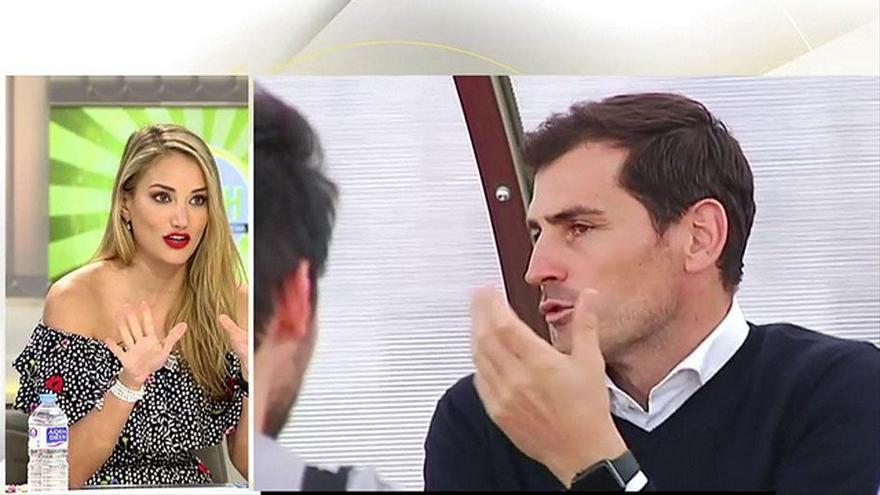 """Alba Carrillo defiende a Iker casillas por su guerra con 'Socialité': """"Algunos reporteros son muy dañinos"""""""