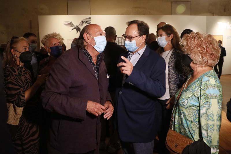 Inauguración de la exposición de Carmen Alborch en València